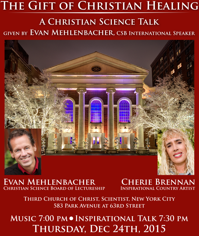 Christmas Eve Lecture e Flyer