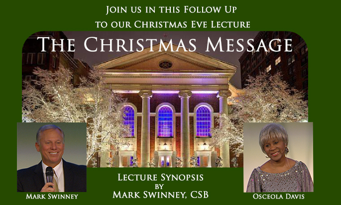 "A Synopsis of ""The Christmas Message"""