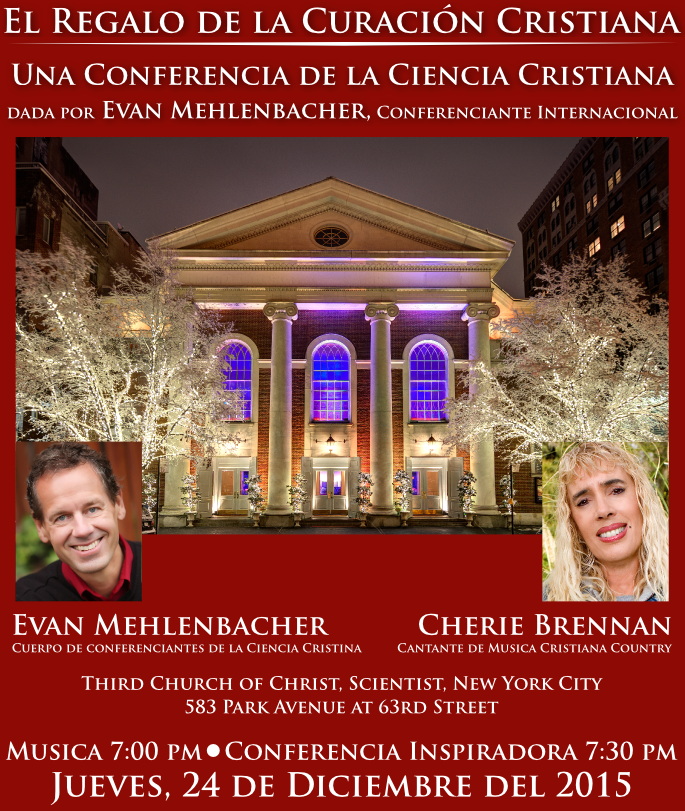 Christmas Eve Lecture e Flyer SPANISH