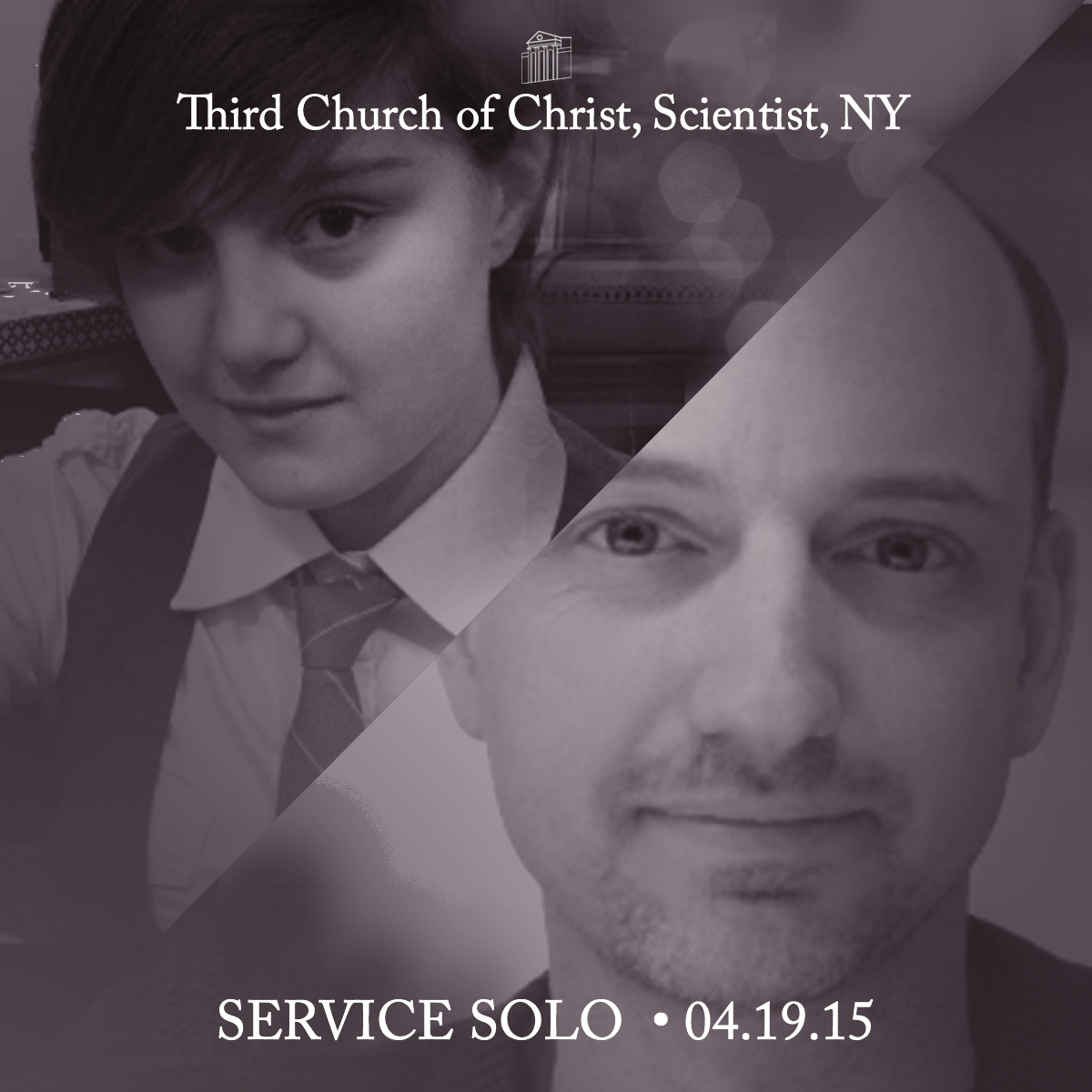 Guest Soloist Recording - Third Church of Christ, Scientist, NYC